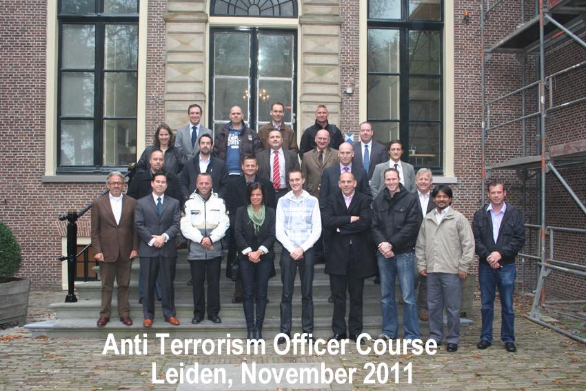 Anti-Terrorism Officer (ATO) Course - Leiden 2011